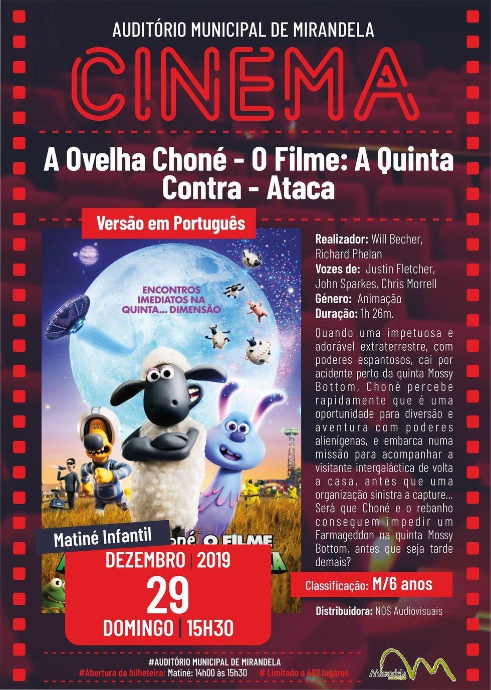 Cinema: A Ovelha Choné - O Filme