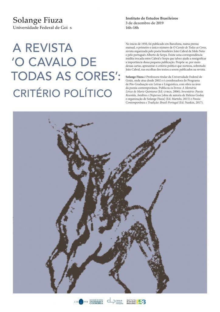 A revista 'O Cavalo de todas as cores': critério político – Conferência