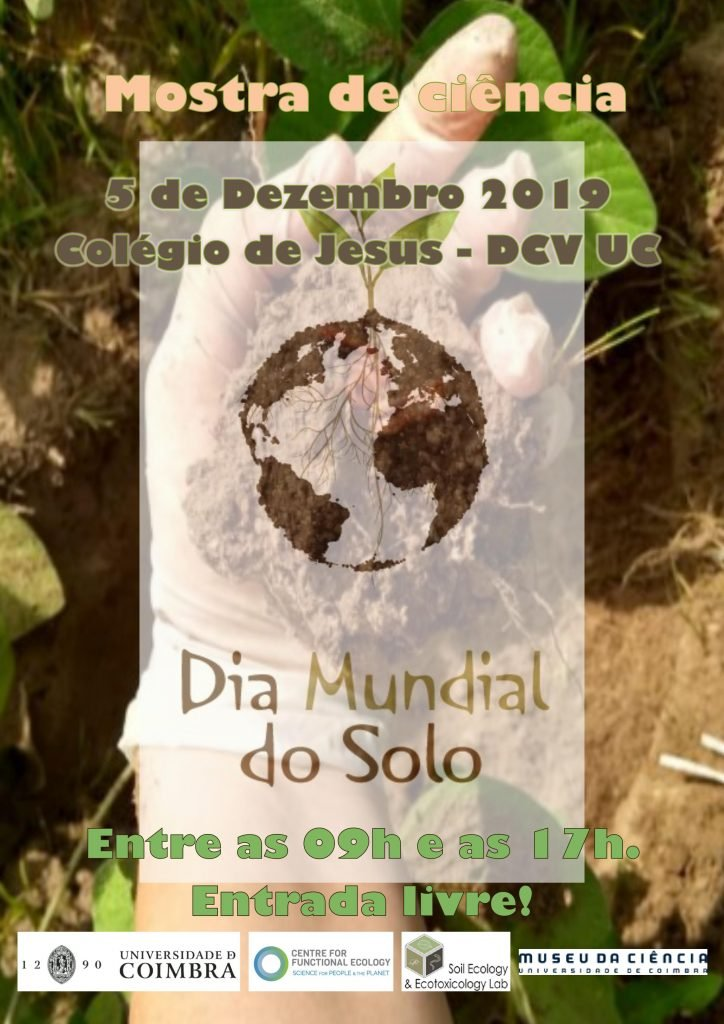 Dia Mundial do Solo (World Soil Day – WSD) – Mostra de Ciência