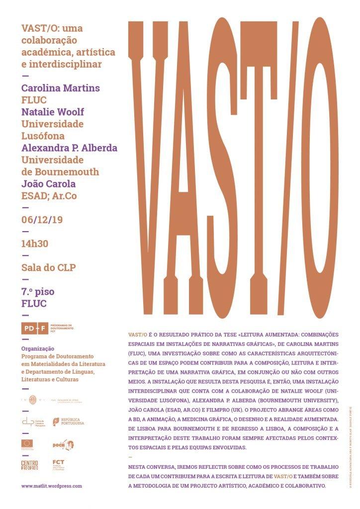Vast/o: uma colaboração académica, artística e interdisciplinar