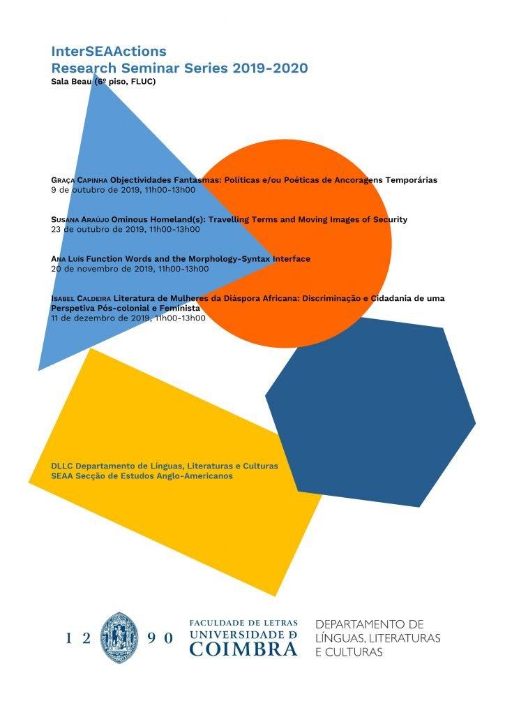 InterSEAActions: Research Seminar Series 2019-2020