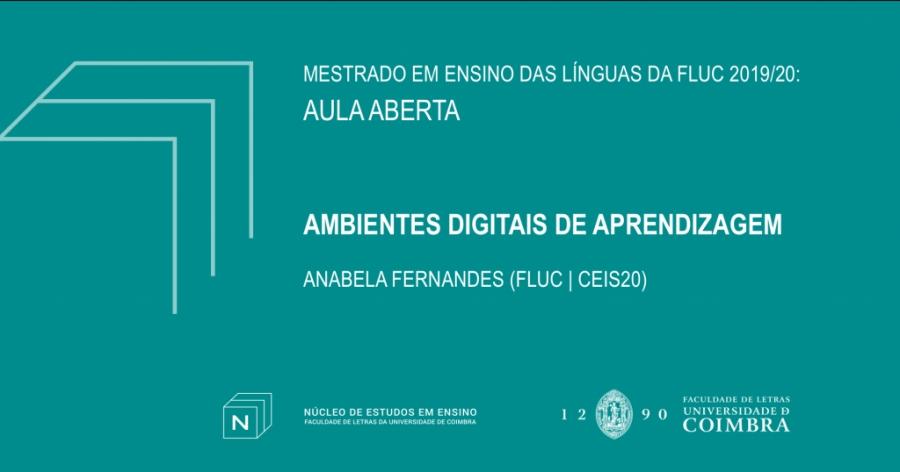 Aula Aberta – Ambientes digitais de aprendizagem