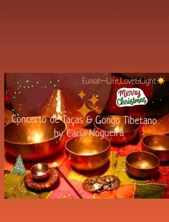Concerto de Natal com Taças & Gongo Tibetano