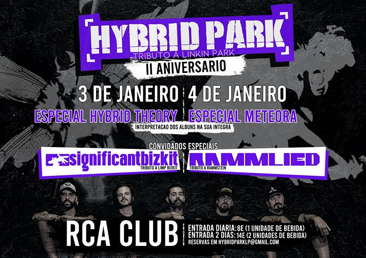 II aniversário de Hybrid Park (Especial Meteora)