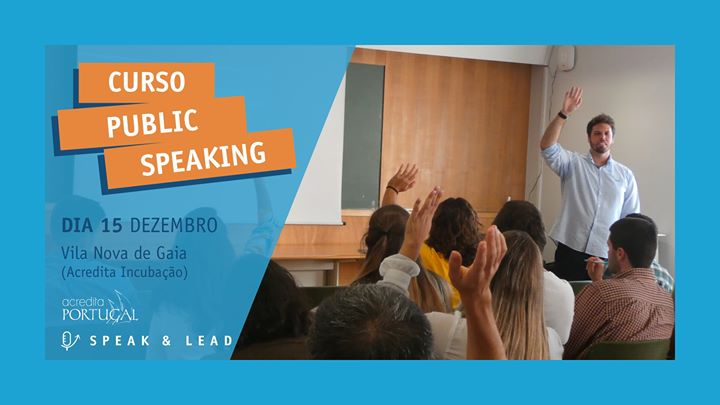 Curso Public Speaking - Vila Nova de Gaia