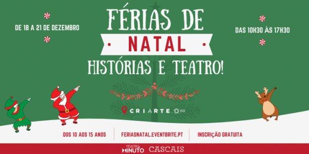 Férias de Natal - Histórias e Teatro