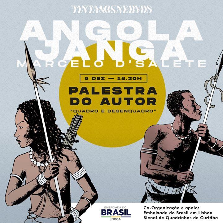 Palestra 'Quadro e desenquadro', com Marcelo D'Salete
