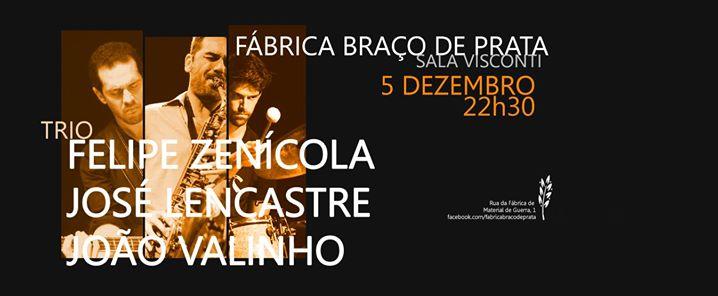 Trio | Felipe Zenícola, José Lencastre e João Valinho