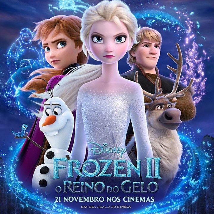 'Frozen 2: o Reino do Gelo'