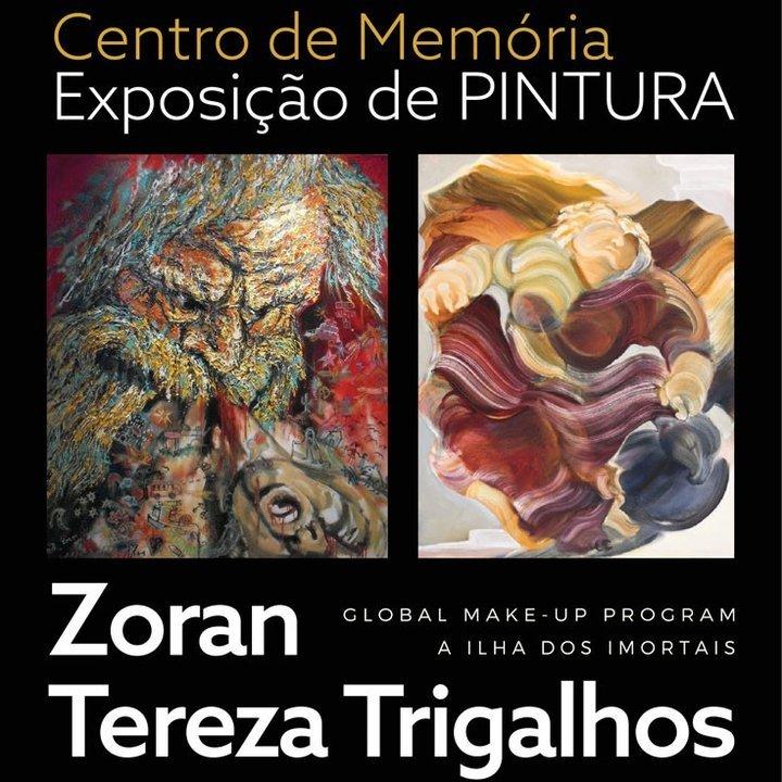 Exposições de pintura de Zoran e ...