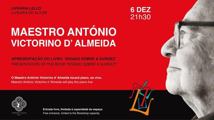 Apresentação do livro do Maestro António Victorino d' Almeida