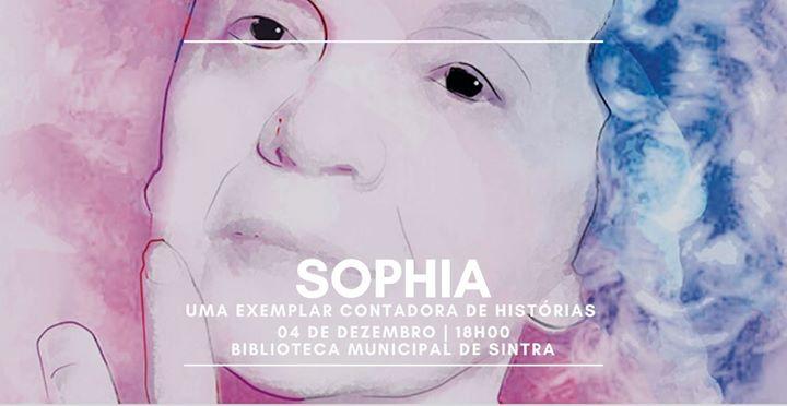 Sophia, uma exemplar contadora de histórias | 4 de dez, 18h00