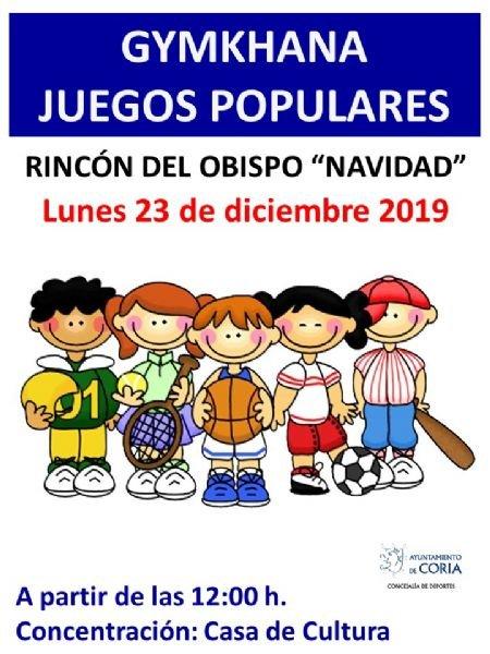 Gymkhana de Juegos Populares en Rincón del Obispo