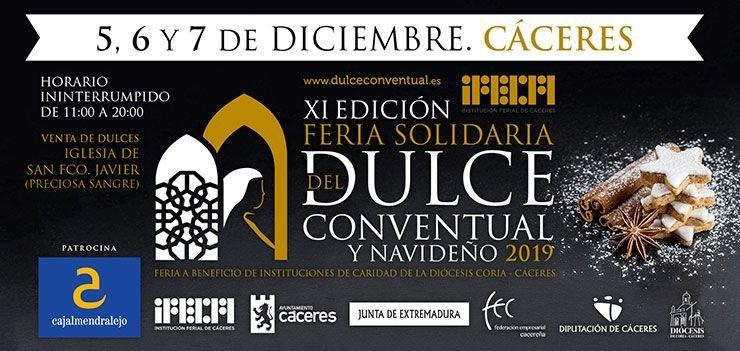 XI Edición Feria Solidaria del Dulce Conventual y Navideño 2019