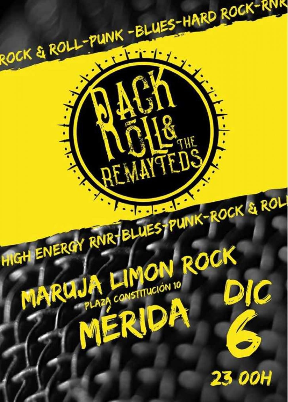Concierto Rack Roll The Remayteds