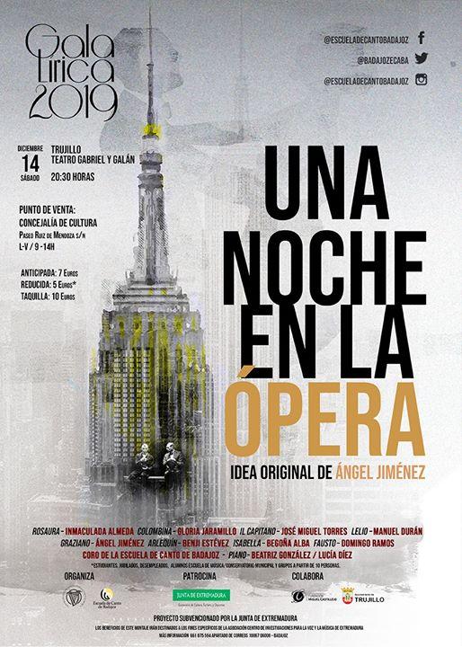 GalaLírica2019. Una Noche en la Ópera. Trujillo(Cáceres) [Ópera]
