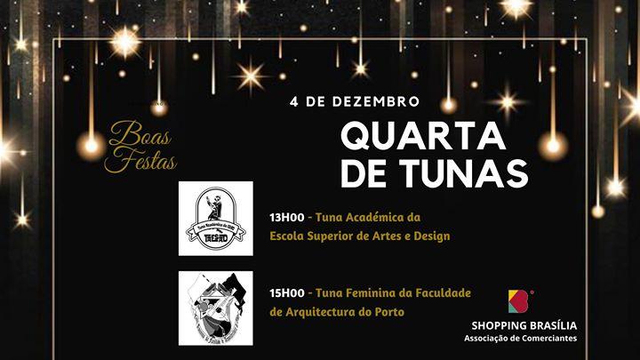 O melhor Natal acontece no Brasília ! Quarta de Tunas