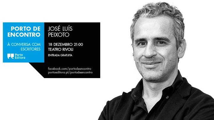 José Luís Peixoto no Porto de Encontro