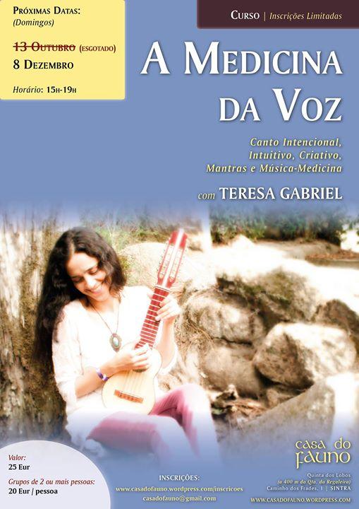 Curso | A Medicina da Voz com Teresa Gabriel