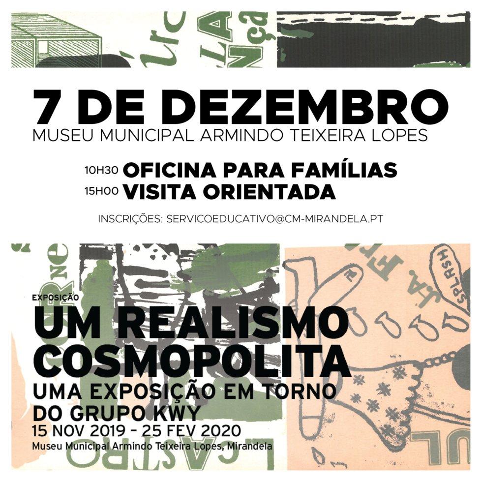 Visita Oficina - Exposição 'UM REALISMO ...