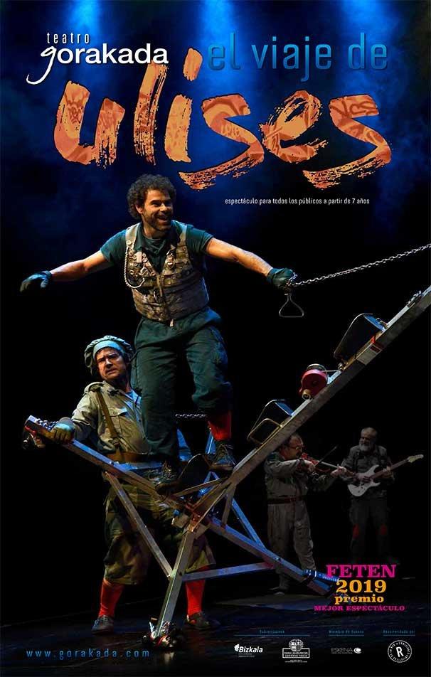 Teatro familiar: «El viaje de Ulises»