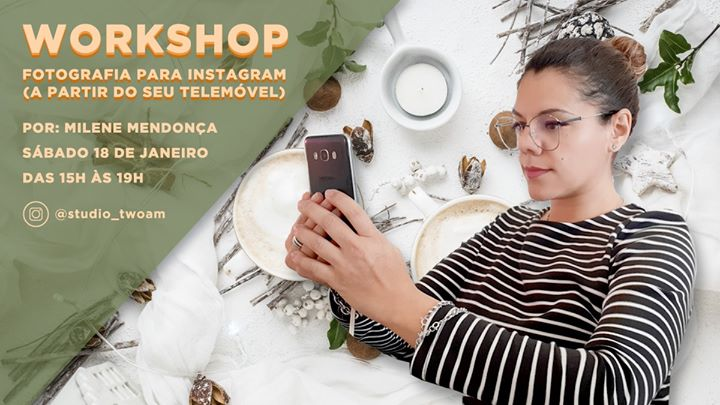 Workshop - Fotografia para Instagram