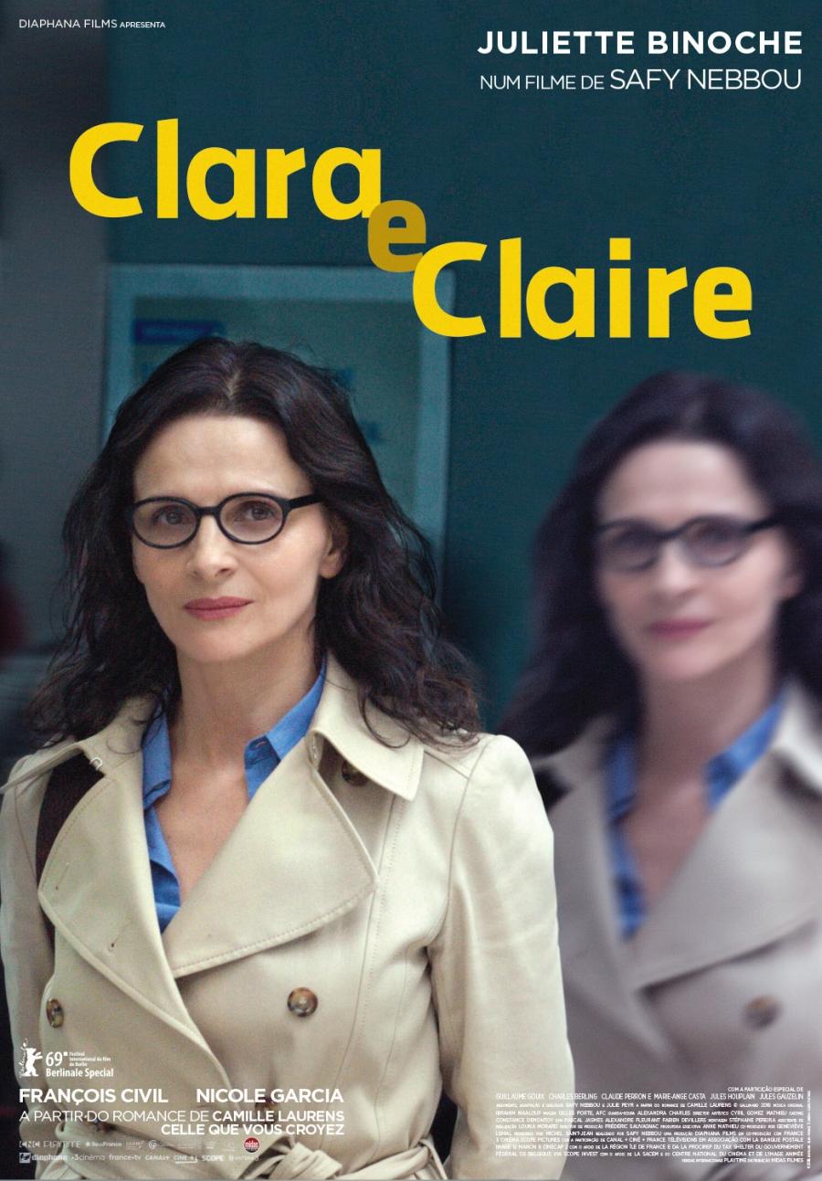 (ADIADO) CINECLUBE CCC | 'CLARA E CLAIRE'