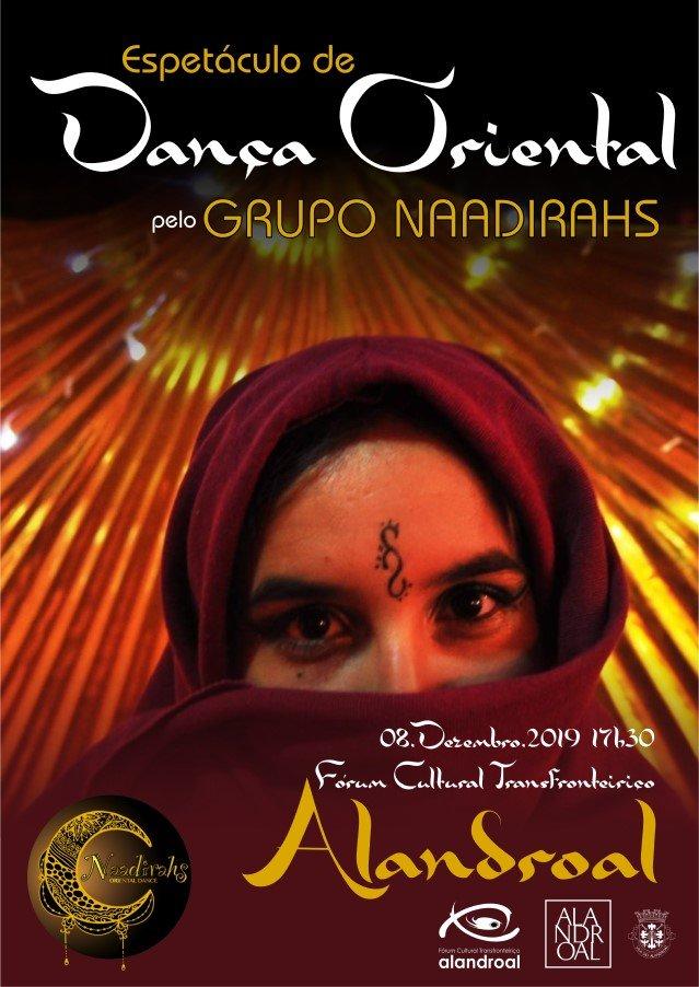 Espetáculo de Dança Oriental pelo Grupo Naadirahs