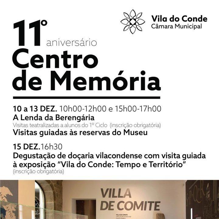11º aniversário do Centro de Memória