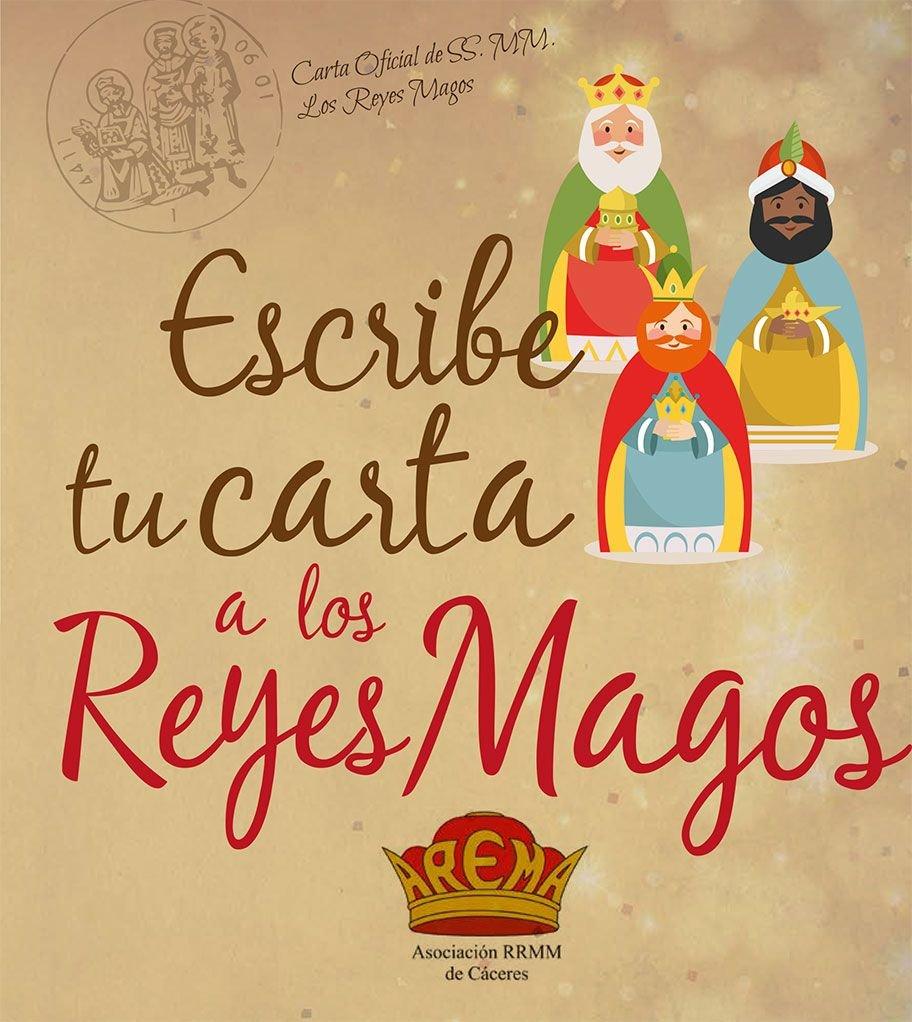 Escribe la carta a los Reyes Magos de Cáceres