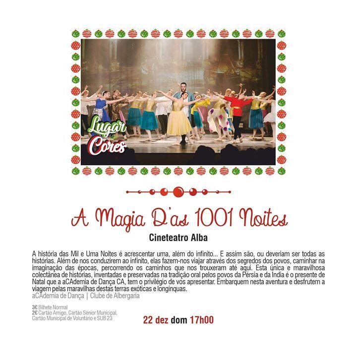 A Magia D'as 1001 Noites - Lugar das Cores