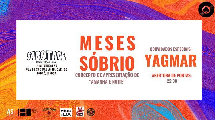 Meses Sóbrio + Yagmar | Sabotage Club