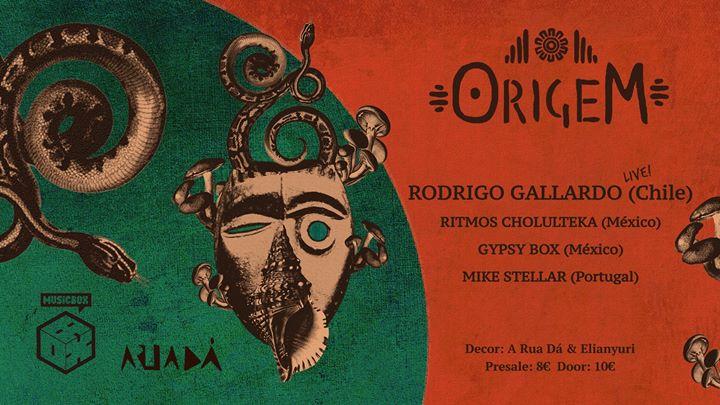 OrigeM vol.2 // Rodrigo Gallardo // LIVE