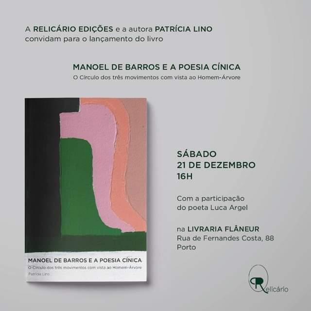 Patrícia Lino apresenta Manoel de Barros e a Poesia Cínica