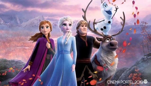 CINEMA: FROZEN II - O REINO DO GELO - 3D