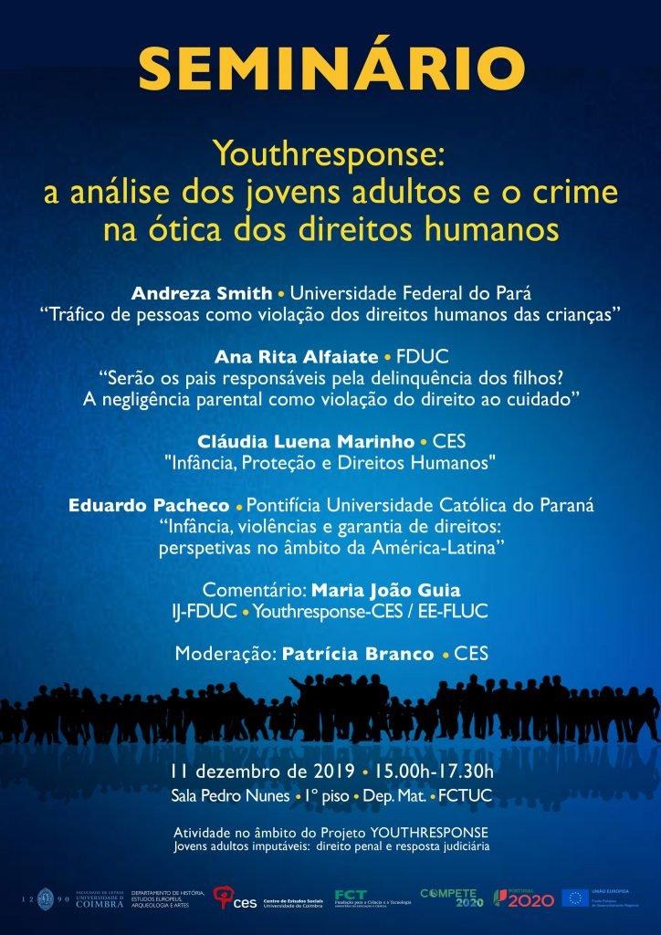 Youthresponse: a análise dos jovens adultos e o crime na ótica dos direitos humanos