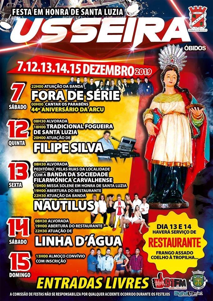Festa em Honra de Santa Luzia | Usseira