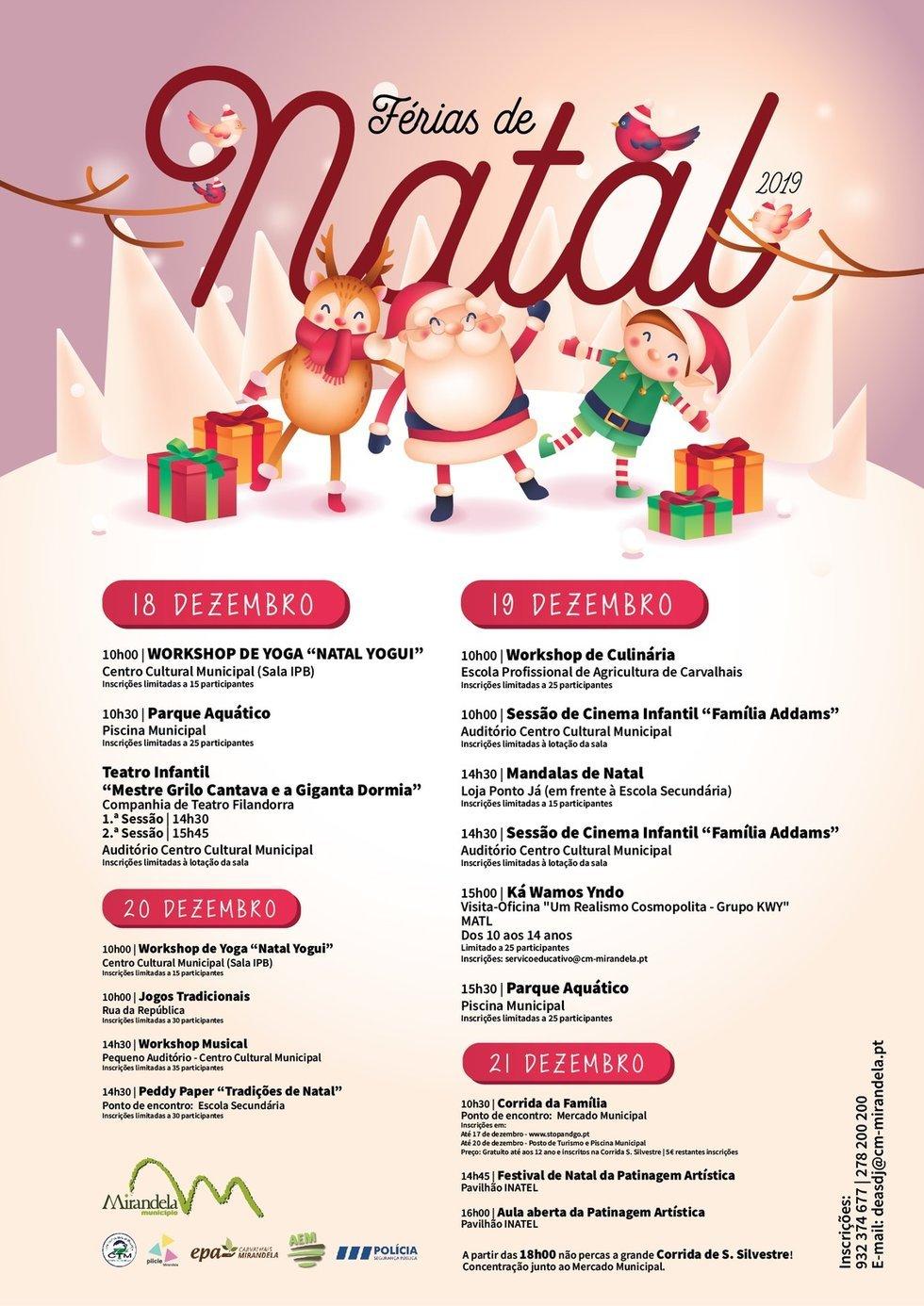 Férias de Natal 2019