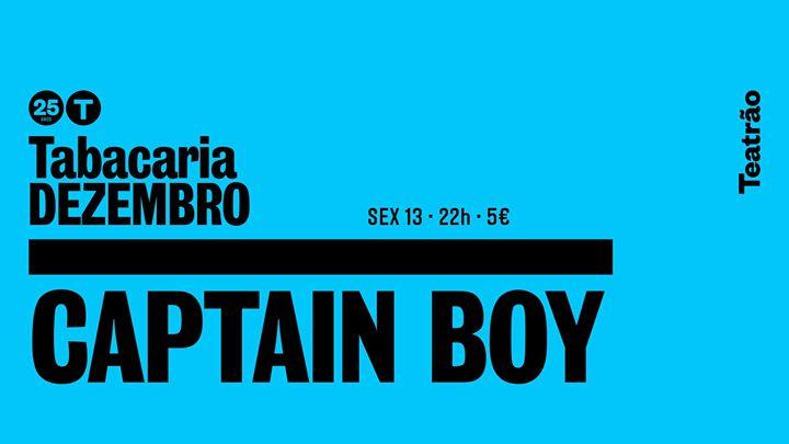 Captain Boy - tabacaria/teatrão