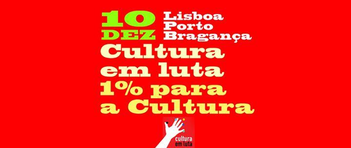 Cultura em Luta - 1% para a Cultura