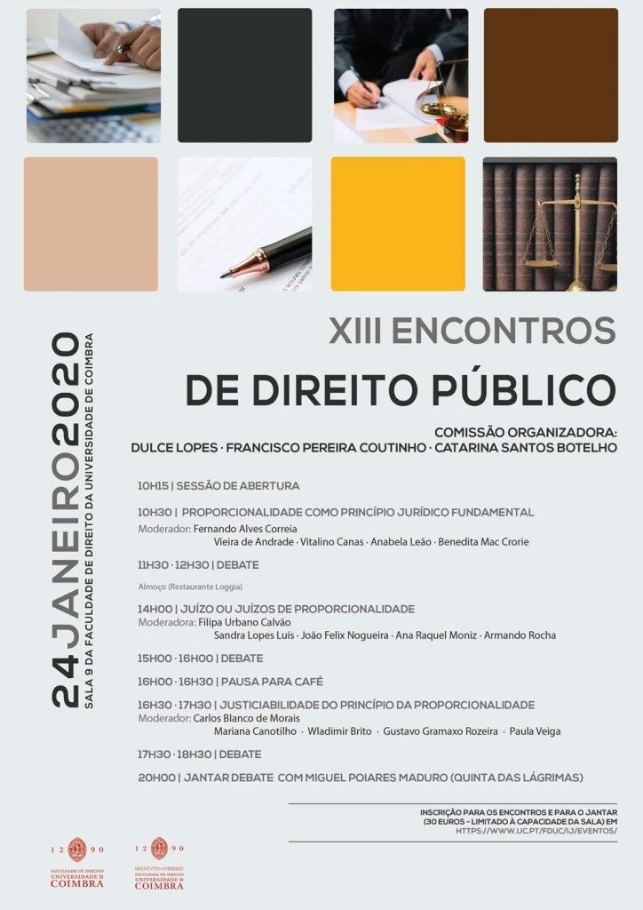 XIII ENCONTROS DE DIREITO PÚBLICO