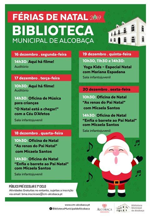 Férias de Natal Biblioteca Municipal