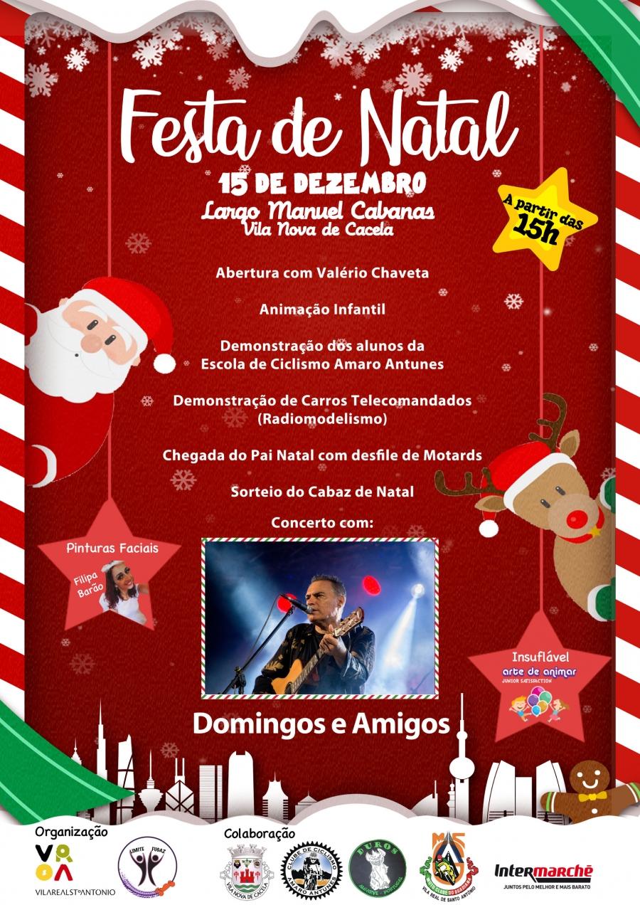 """""""Festa de Natal"""" em  Vila Nova de Cacela"""