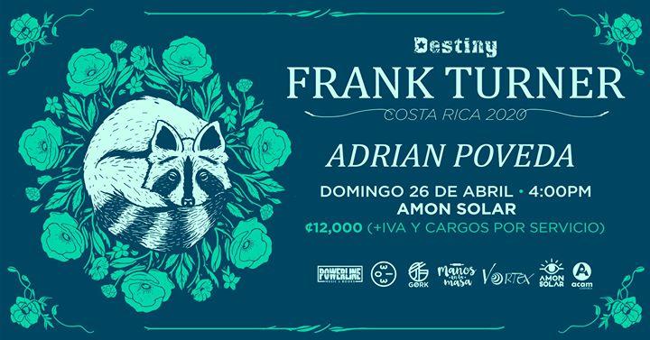 Frank Turner en Costa Rica