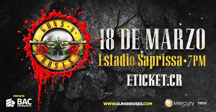Guns N' Roses En Costa Rica