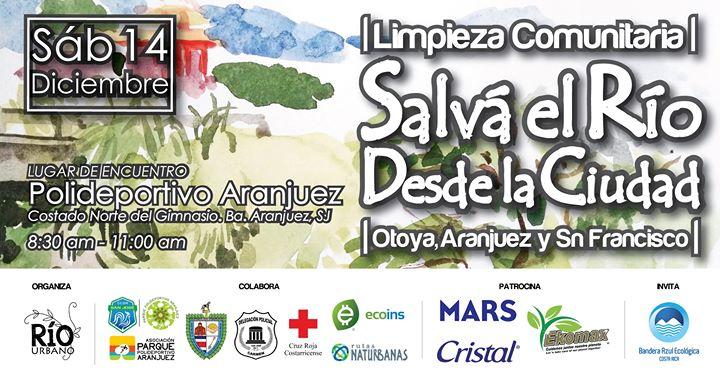 """Limpieza Comunitaria """"Salvá el Río Desde La Ciudad"""" / Diciembre"""