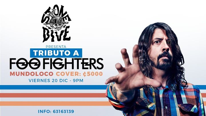 Stone Dive: Tributo a Foo Fighters Mundoloco