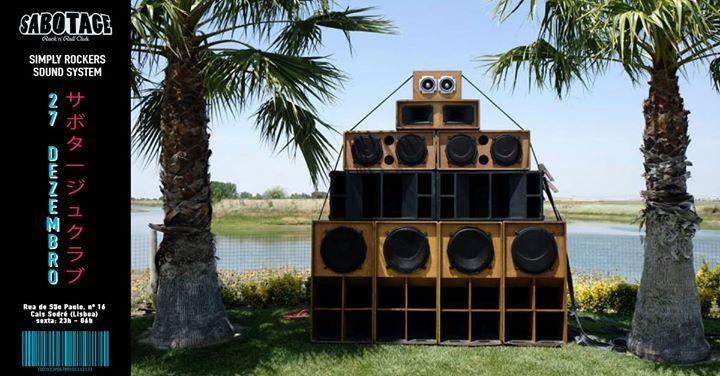 Simply Rockers Sound System | Sabotage Club