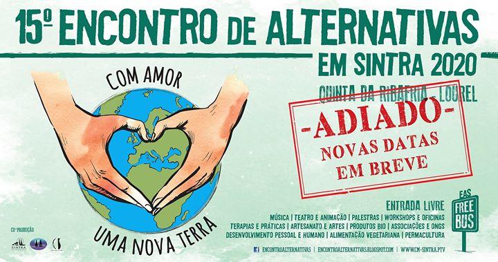 15.º Encontro de Alternativas em Sintra - Adiado para breve