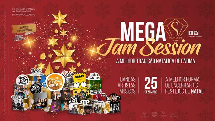 ✰ MEGA JAM Sessions •• Noite de Natal 25 Dez SPACE CLUB